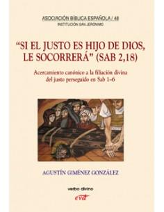 """""""Si el justo es Hijo de Dios, le socorrerá"""" (Sab 2,18) Acerc"""