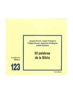 50 palabras de la Biblia Cuaderno Bíblico 123