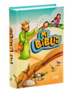 Mi Biblia. Ilustrada infantil [bolsillo - cartoné - infantil