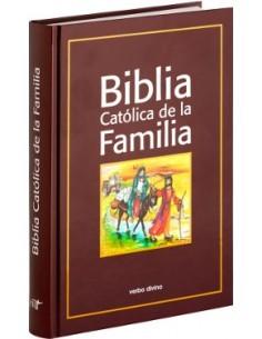 Biblia Católica de la Familia Cartoné, dos colores