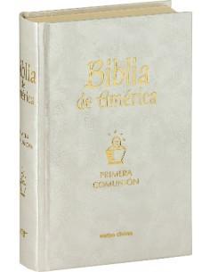 Biblia de América - Edición popular nacarina