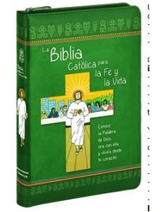 La Biblia Católica para la Fe y la Vida edición dos tintas /