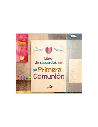 9d4631f47e8 Libro de recuerdos de mi Primera Comunión - TiendaClero Pablo Peinado