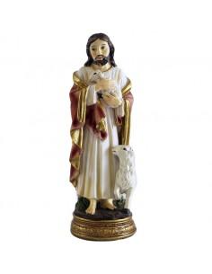 JESUS BUEN PASTOR 12 cm RESINA