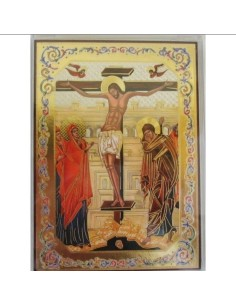 ICONO CRISTO CRUZ 10 x 14