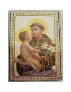 ICONO SAN ANTONIO 10 x 14 CM
