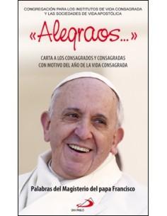 """""""Alegraos..."""" Carta a los Consagrados y Consagradas con moti"""