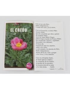 POSTAL CREDO 9 x 15 cm