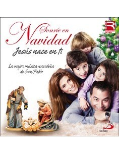 SONRIE EN NAVIDAD JESUS NACE EN TI, cd