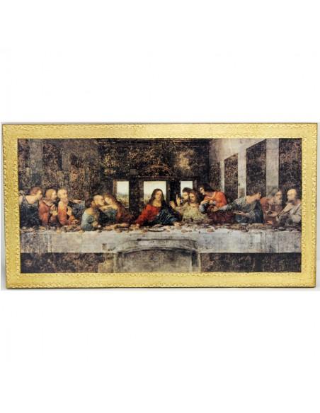 Cuadro de la Santa Cena Medida: 24 x 25 cm