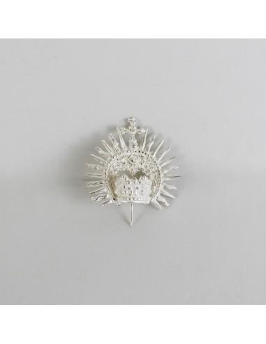 Corona de plata Diámetro corona: 1,5 cm Altura(sin pincho): 4 cm
