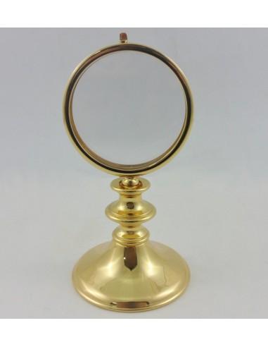 Ostensorio dorado 17 cm