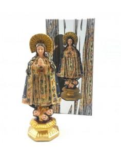 Virgen Inmaculada 20 cm, resina.