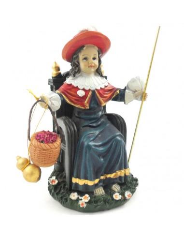 Imagen del Niño de Atocha. Esta figura está inspirada en el la imagen del Santo Niño que se encuentra en la basílica de Nuestr
