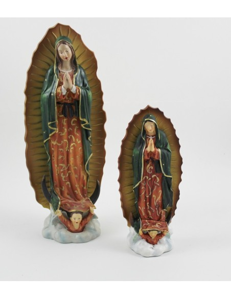 Virgen de Guadalupe disponible en diferentes medidas