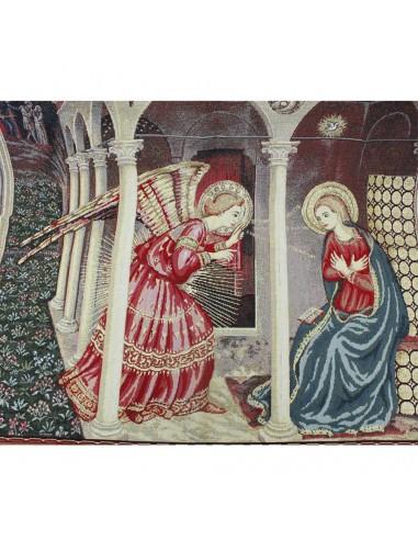 Tapiz Anunciación 110 x 140 cm. Composición: Algodón y lurex.