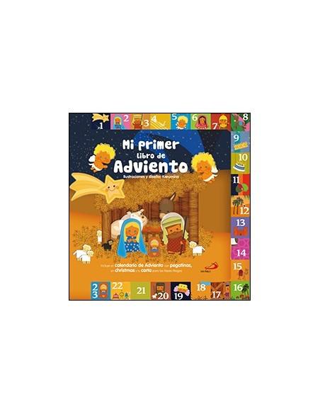 Un fantástico calendario de Adviento con páginas de cartón troqueladas para preparar día a día la Navidad. Cada página ofrece u