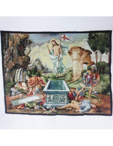 Tapiz Resucitado 110 x 140 cm. Composición: Algodón y lurex.