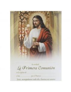 LAMINA PRIMERA COMUNION...