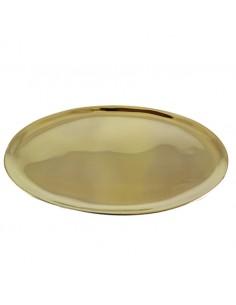 Platillo oval pulido Disponible en dos medidas: 17 x 10 cm  20 x 11 cm