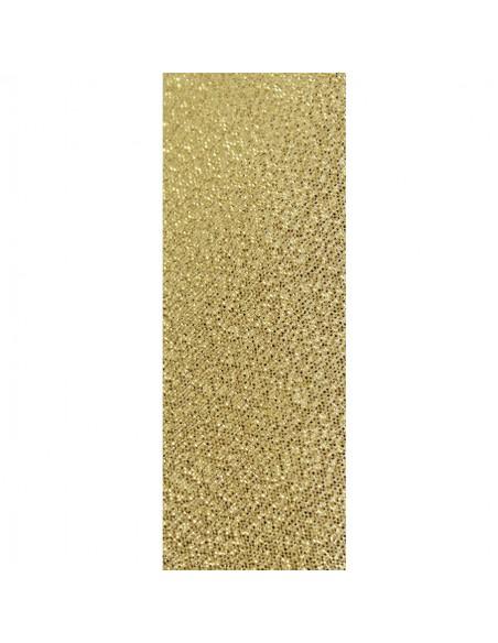Ribete oro, ancho 2.50 cm.