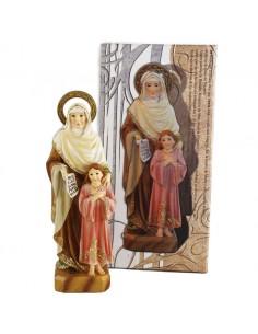 Santa Ana con la Virgen de 17 cm