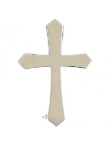 Cruz de plata de 2,5 cm