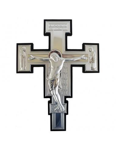 Cruz de Plata de ley  34 cm.