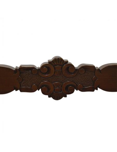 Reclinatorio de madera Medida:  Altura: 85 cm  Anchura: 130 cm  Profundidad: 52 cm