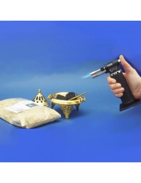 Encendedor para velas y pastillas de carbon.  Evite tener que utilizar pinzas para coger el carbón con este práctico encended