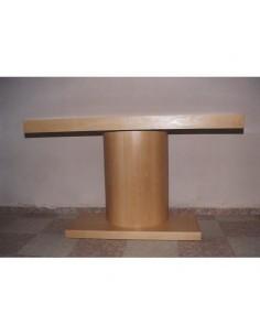Mesa moderna madera haya,
