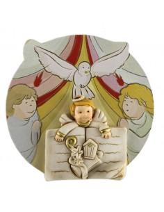 Blister cuadrito Espiritu Santo, con carton