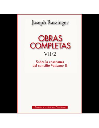 Obras completas de Joseph Ratzinger....