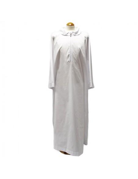 Alba misto algodón blanca.