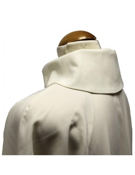 Túnica de monaguillo blanca. Tejido poliéster primavera. Disponible en diferentes medidas desde 105 a 140 cm en baremos de 5 cm