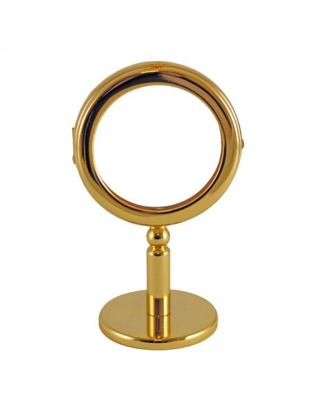 Ostensorio dorado Diámetro interior: 7,5 cm