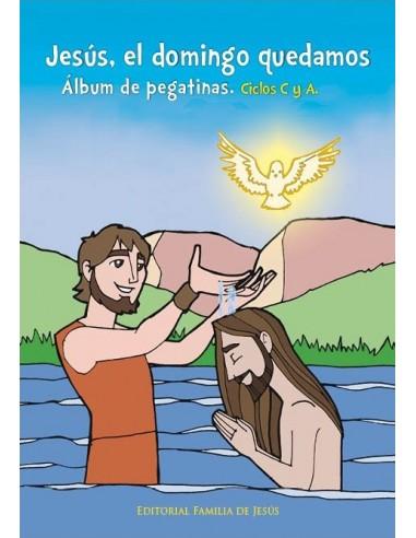 Álbum de pegatinas para animar a los niños a participar en la Eucaristía dominical: se les ofrece la pegatina correspondiente a