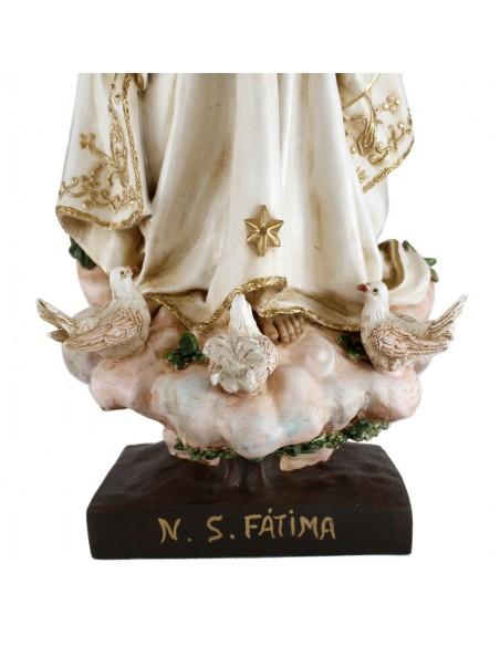 Nuestra señora de Fatima 70 cm marmolina