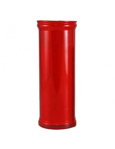 Velón económico 57 mm Ø x 160 mm.  Sin humos ni olores, no se apaga se consume hasta el final.  Las cajas son de 24 unidade