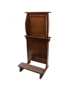 Confesionario portatil. Medida abierto:143 cm de altura total Medida cerrado: 86 cm de altura