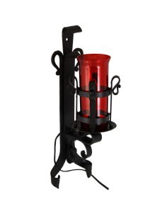 Aplique en forja para Santísimo electrico.  Vaso y bombillas no incluido en el precio.
