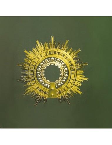 Aureola Virgen del Pilar de plata disponible en diferentes medidas