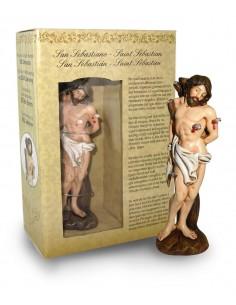 Imagen de San Sebastian. 12 cm