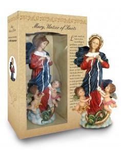 Imagen de la Virgen Desatanudos. 12 cm