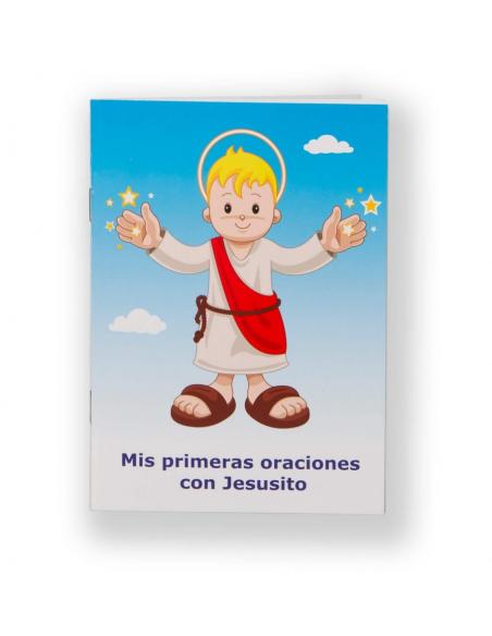 NUEVO MODELO ANIVERSARIO 10 AÑOS DE JESUSITO  Tu peluche de Jesusito en tamaño 30cm. con oraciones en 6 idiomas.  Aprieta e