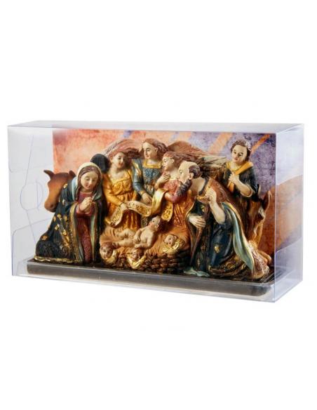 Nacimiento de Jesus, Catedral de Malaga 10 cm.