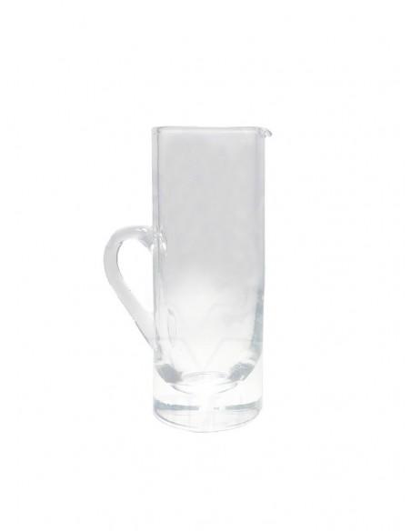 Jarrita Vinajera cristal.  Para Vinajeras: 001058, 001117, 001358.  Medidas: Alto: 9 cm                Ancho: 3,5 cm