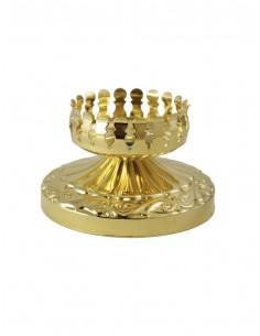 Candelero porta Lámpara del Santísimo, el vaso se vende aparte. Diámetro interior: 7.50 cm  Vaso recomendado: referencia 0087