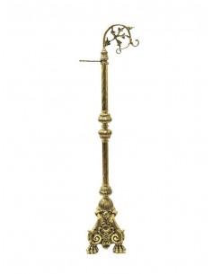 Portaincensario de bronce en acabado dorado. Portaincensario realizado en bronce de gran calidad en acabado color dorado pulid