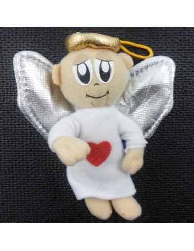 Peluche angel 10 cm para colgar.